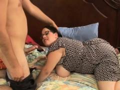 MILF BBW Devyn Devine Fucks Her Son's BestFriend