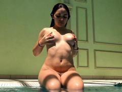 Diana Rius hot Spanish babe underwater
