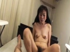 Close up masturbation of Japanese pussy