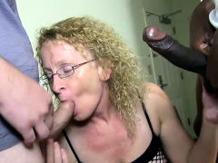 CATHY TAKES TWO COCKS