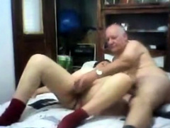 Old couple fucking