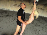 Rough anal creampie compilation and berlin slave Helpless te