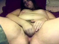 Thick Teen Fingers Hairy Pussy