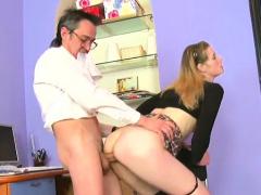Seductive russian whore deep throat fellatio