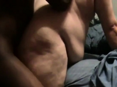 Ebony Guy Fucks White Chub