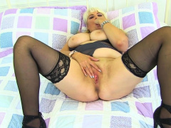 English gilf Christina X keeps her fanny sexually vibrant