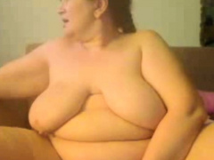 Passionate masturbation Bbw mom Sally