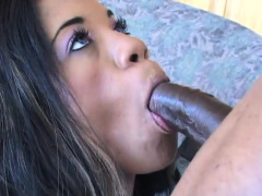 Thick assed ebony babe loves anal