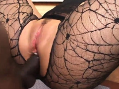 Hot Latina enjoys every inch of a BBC