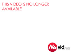 Busty blonde in black lingerie masturbation