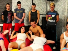 Couples swapping partner in desirous ambisexual adult movie