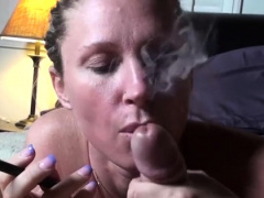 Dong sucking by an angelic blonde mom Devon Lee