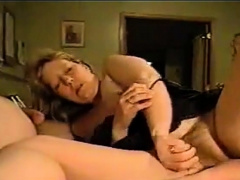 Hot mature bitch  with hairy cunt