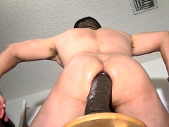 DRILLING MY HOLE WITH SOME HUGE TOYS