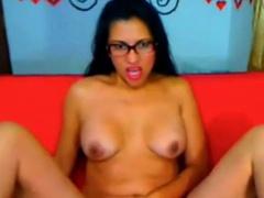 Hot latina milf big ass pussy show