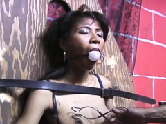 Ambitious bimbo in heels orgasm by fingering cooter
