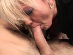 Hot Blond Mom Anal Couch Fucked By Young Hard Cock