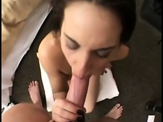 amazing milf riding the young cock