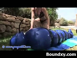 kinky wild seductive fetish latex play