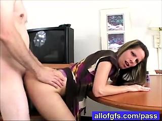 amateur girl ass creampie